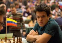 Venezolano triunfa en ajedrez
